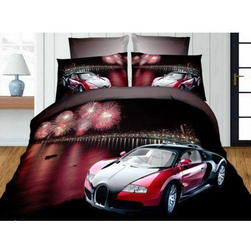 Pościel 3D - Samochód wyścigowy Bugatti - FPW 236-04 - 160x200 3 cz.