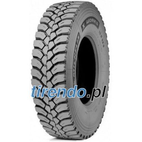 Michelin x works xdy 315/80r225 156k - d, b, 2, 73db