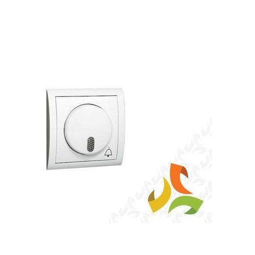Dzwonek sieciowy, 230v, biały mds1/11 simon classic marki Simon kontakt