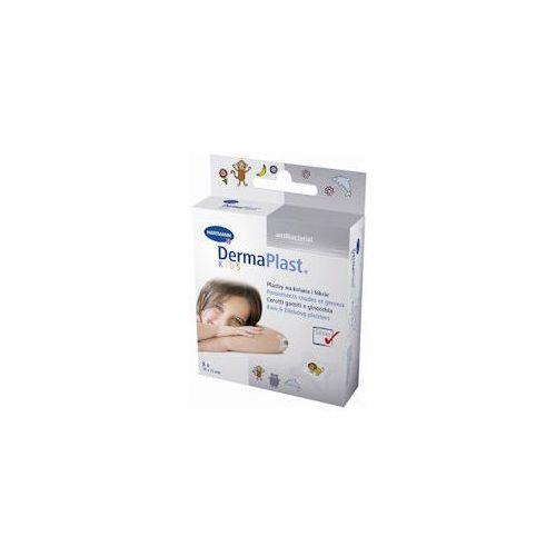 Dermaplast kids antibacterial plaster 76mm x 76mm x 8 sztuk marki Hartmann