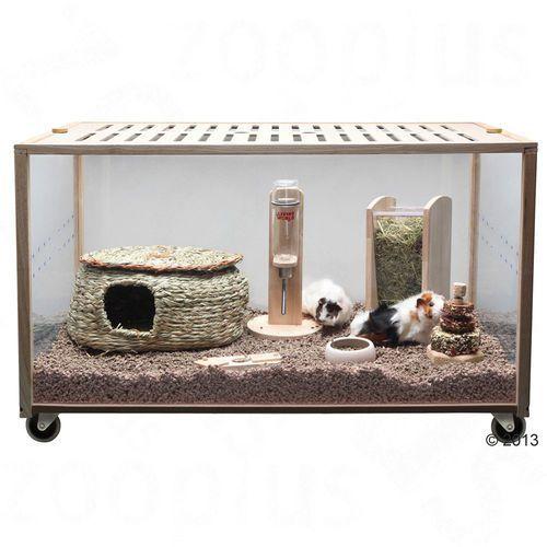 Living World Green Eco Habitat klatka dla gryzoni - Dł. x szer. x wys.: 98,5 x 58,5 x 61 cm| Dostawa GRATIS + promocje| -5% Rabat dla nowych klientów