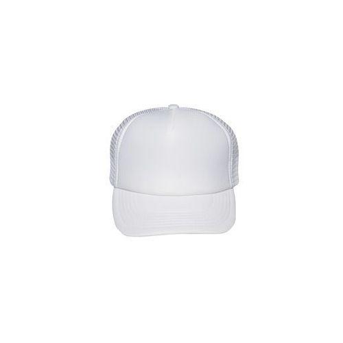 Czapka (bez nadruku, gładka) - biała, 8166