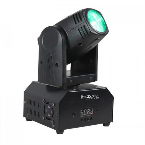 Ibiza LMH250-RC Movinghead ruchoma głowa 4-w-1 10W CREE LED RGBW DMX LED pilot (5420047127341)