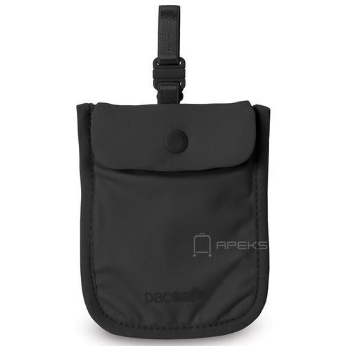 Pacsafe coversafe s25 dyskretny damski portfel - black