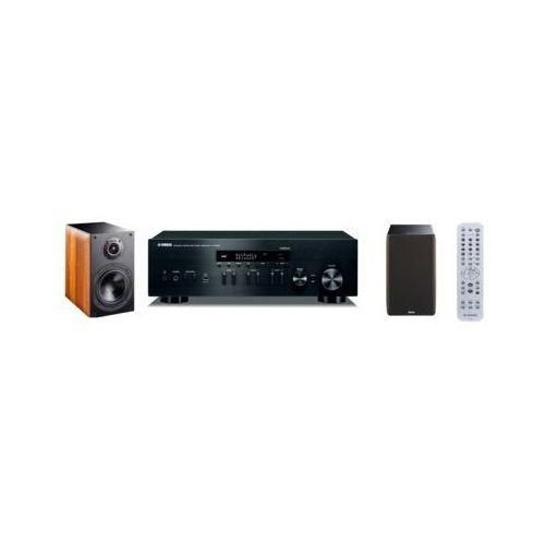 Yamaha Zestaw stereo r-n402d bl + indiana line nota 260 orzech darmowy transport
