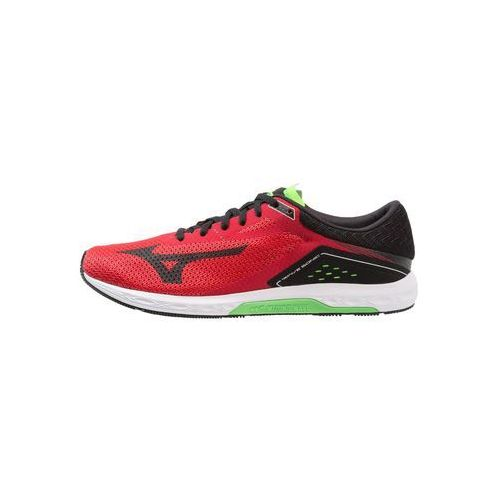 Mizuno wave sonic obuwie do biegania treningowe formula one/black/green slime