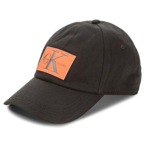 Czapka z daszkiem CALVIN KLEIN JEANS - J Re-Issue Leather P K40K400082 001, kolor czarny