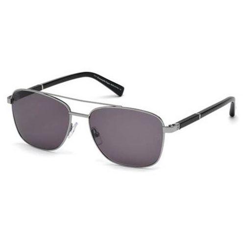 Okulary Słoneczne Ermenegildo Zegna EZ0014 Polarized 13D