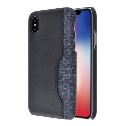 Etui AZURI Elegante Mix iPhone X czarne