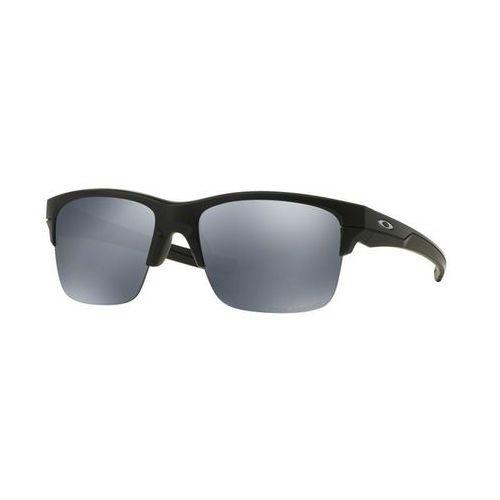 Okulary Słoneczne Oakley OO9317 A THINLINK Asian Fit Polarized 931705, kolor żółty