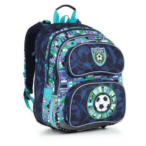 Topgal Plecak szkolny chi 884 d - blue