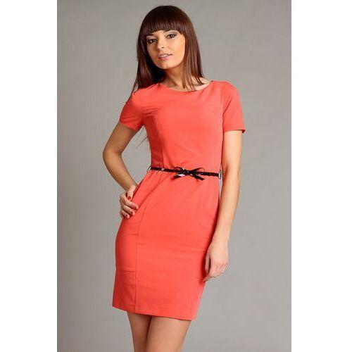 Sukienka susanne koralowy, Vera fashion