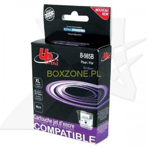 UPrint kompatybilny ink z LC-985BK, black, 15ml, B-985B, dla Brother DCP-J315W, IBRLC985BKBU (6315286)