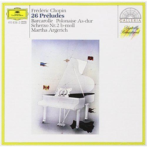 Martha argerich - chopin:24 preludes marki Universal music / deutsche grammophon