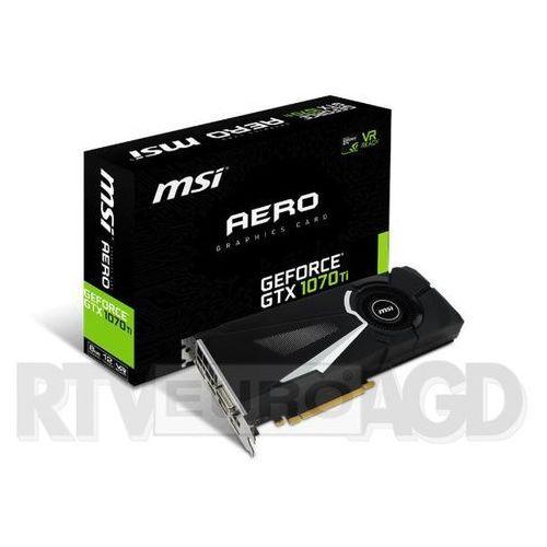 MSI GeForce GTX 1070 Ti AERO 8GB DDR5 256bit, GTX 1070 TI AERO 8G