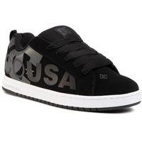 Sneakersy DC - Court Graffik Se 300927 Black/Grey/Black(XKSK), kolor czarny