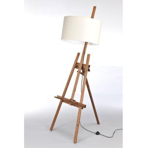 Lampa stojąca sztaluga dark wood nr 2457 marki Namat