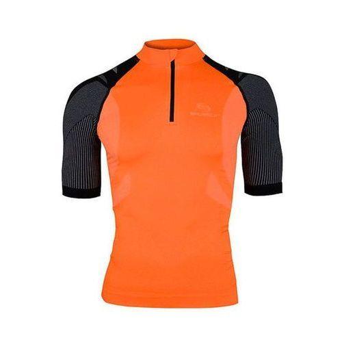 Brubeck SS10410 - koszulka rowerowa unisex (pomarańczowy)