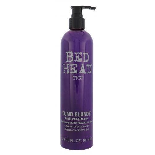 Tigi Bed Head Dumb Blonde Purple Toning szampon do włosów 400 ml dla kobiet