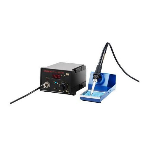 Stamos soldering stacja lutownicza - 65 w - kolba lutownicza - led - basic s-ls-12 basic - 3 lata gwarancji