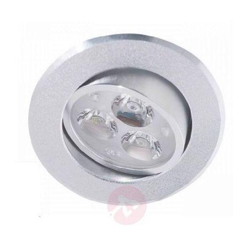 Eco-light Oprawa wpuszczana led jakob z trzema led (4250294304636)