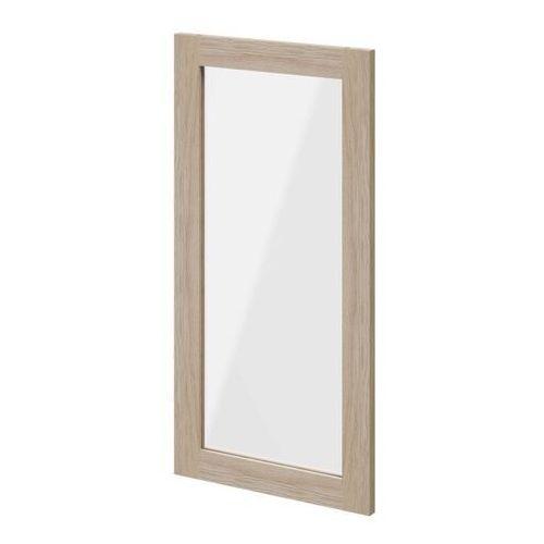 Goodhome Drzwi do korpusu 37,5 x 75 cm atomia dąb/szkło transparentne (5036581053727)