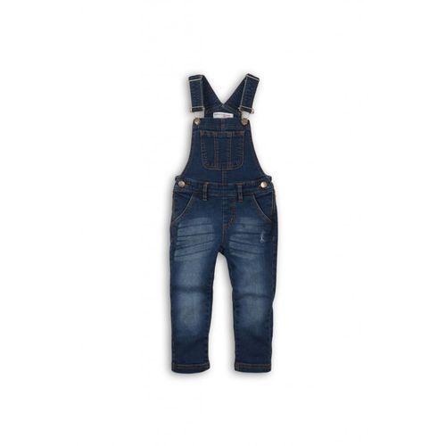 Minoti Spodnie ogrodniaczki dziewczęce 4l35a1