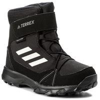 Śniegowce adidas - Terrex Snow Cf Cp Cw K S80885 Cblack/Cwhite/Grefou, kolor czarny