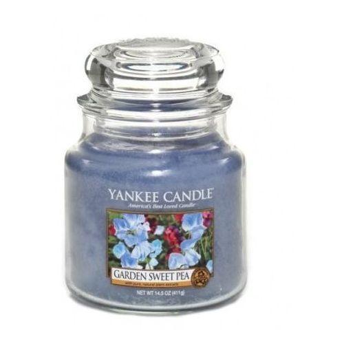 Yankee home Świeca yankee słoik średni garden sweet pea - yssgsp