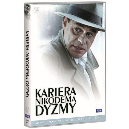 Kariera Nikodema Dyzmy (3 DVD) - Dostawa zamówienia do jednej ze 170 księgarni Matras za DARMO - produkt z kategorii- Filmy polskie