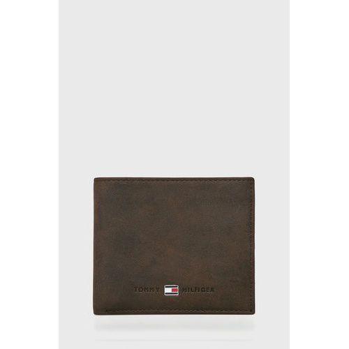 Tommy hilfiger - portfel skórzany johnson mini