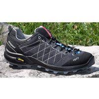 Męskie buty trekkingowe deep vesuvio 13133v3g czarny/szary 45 marki Grisport