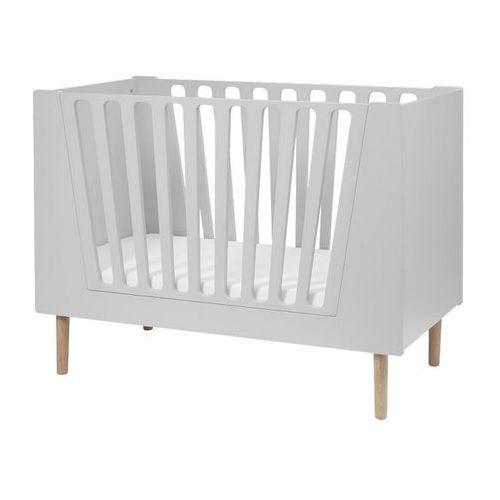 Done by deer  łóżeczko 60x120 cm grey, kategoria: łóżeczka i kołyski