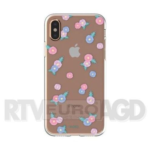 Etui FLAVR iPlate Tiny Flowers do Apple iPhone X Wielokolorowy (30045), kolor wielokolorowy