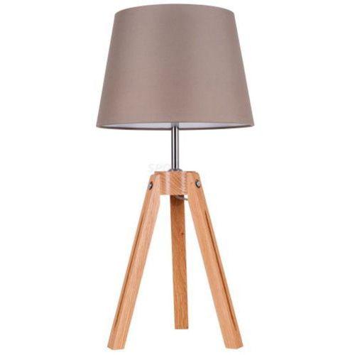 Spotlight Lampa stołowa tripod 6113070 dąb-szaro-brązowy + darmowy transport!