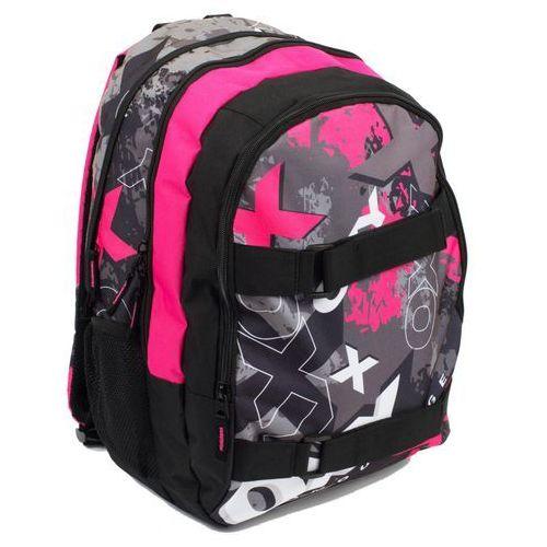 Karton P+P Anatomiczny plecak OXY SPORT II PINK, kolor różowy