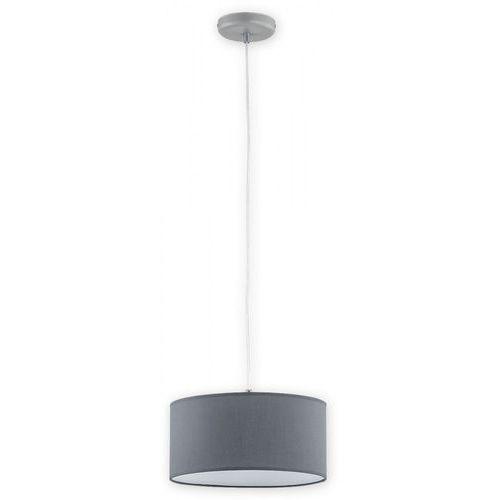 lara o2761 w1 sza + sza lampa wisząca zwis 1x60w e27 szary mat / szary marki Lemir