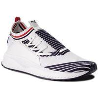 Sneakersy PUMA - Tsugi Jun Sport Stripes 367519 01 Pwhite/Peacoat/Rred, kolor biały