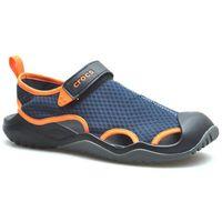 Sandały Crocs 205289/4V9 Granatowe/Pomarańczowe
