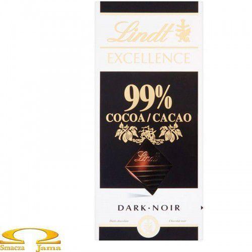 Czekolada excellence 99% cacao 50g marki Lindt