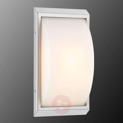 LCD Espelkamp lampa ścienna Stal nierdzewna, 1-punktowy - Nowoczesny - Obszar zewnętrzny - Espelkamp - Czas dostawy: od 4-8 dni roboczych (8033239391979)
