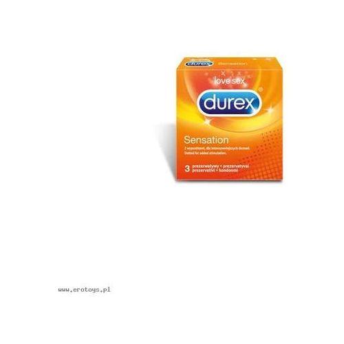 Prezerwatywy Durex Sensation A3 (antykoncepcja i erotyka)