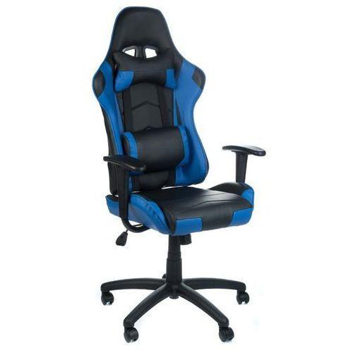 Beauty system Fotel gamingowy racer corpocomfort bx-3700 niebies