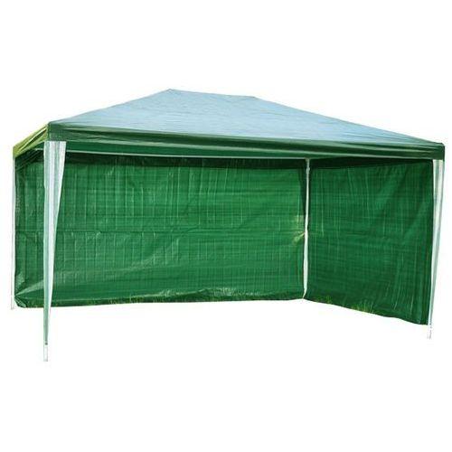 PAWILON OGRODOWY 3x4 m +2 ŚCIANKI NAMIOT HANDLOWY - Zielony z kategorii Pawilony i namioty ogrodowe