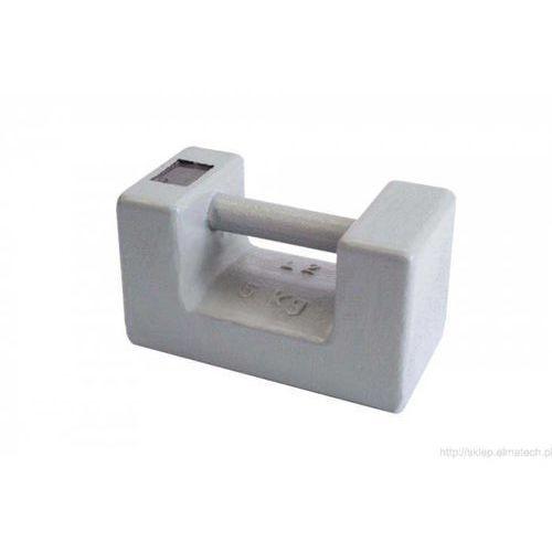 Ohaus Odważnik / wzorzec masy prostokątny, żeliwo OIML M1 5kg - 87000009