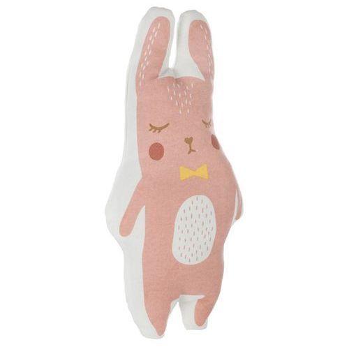 Miękka przytulanka w kształcie królika GIRL, poduszka ozdobna - 41 x 20 cm (3560234525115)