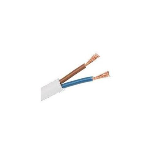 Przewód płaski OMY 2x1,5 300/300V biały 13m kabel 010000045 - sprawdź w wybranym sklepie