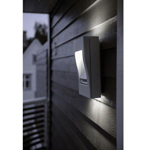 Lampa ścienna zewnętrzna ECO-Light 1863 gr, 2x9 W, G23, IP54, (DxSxW) 19.8 x 9.5 x 30.5 cm, Rom