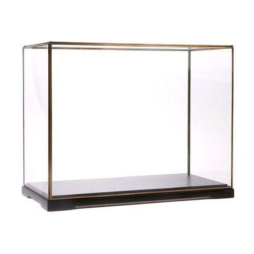 kwadratowa szklana kopuła rozmiar l aoa9976 marki Hk living
