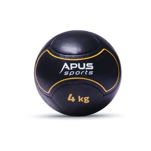 Piłka lekarska skórzana 4kg - Apus Sport
